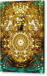 Alchemy Of The Heart Acrylic Print by Jalai Lama