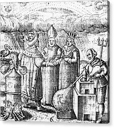 Alchemy Acrylic Print by Universal History Archive/uig