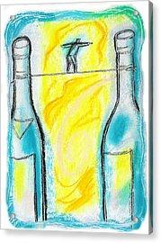 Alcoholism Acrylic Print