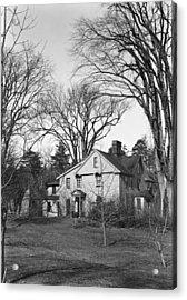 Alcott Orchard House, 1941 Acrylic Print