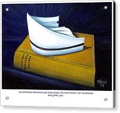 Alderson-broaddus College Acrylic Print by Marlyn Boyd