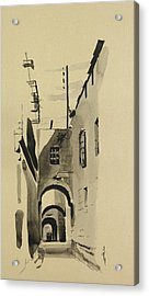Aleppo Old City Alleyway 1 Acrylic Print