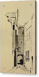 Aleppo Old City Alleyway 2 Acrylic Print