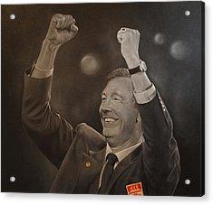 Alex Ferguson Acrylic Print