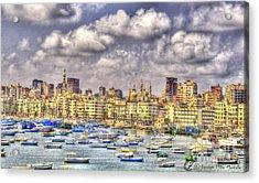 Alex Acrylic Print by Hossam ElDin  Mostafa