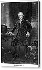 Alexander Hamilton Acrylic Print by Historic Image