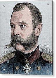 Alexander II (1818-1881 Acrylic Print by Prisma Archivo