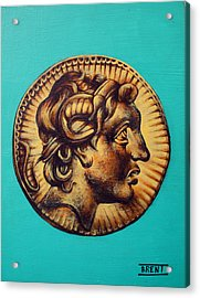 Alexander The Great Acrylic Print