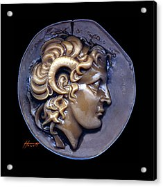 Alexander The Great Acrylic Print by Patricia Howitt
