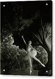 Alexandra Danilova In Swan Lake Acrylic Print