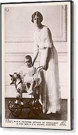 Alexandra Duchess Of Connaught Wife Acrylic Print by Mary Evans Picture Library