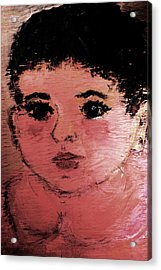 Acrylic Print featuring the painting Alexandra by Evelina Popilian