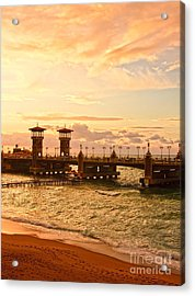 Alexandria Stanley Bridge Acrylic Print