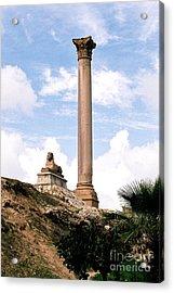 Acrylic Print featuring the photograph Alexandrian Ruins by Cassandra Buckley