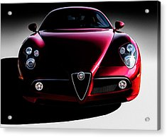 Alfa Romeo 8c Acrylic Print