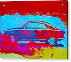 Alfa Romeo  Watercolor 1 Acrylic Print by Naxart Studio