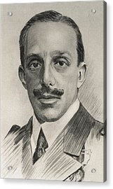Alfonso Xiii 1886-1941. King Of Spain Acrylic Print by Everett
