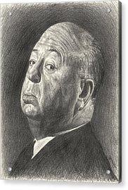 Alfred Hitchcock Acrylic Print