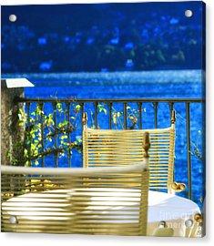 Alfresco Dining Acrylic Print