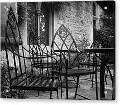 Acrylic Print featuring the photograph Alfresco by Stewart Scott