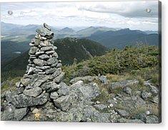 Algonquin Mountain Cairn Acrylic Print