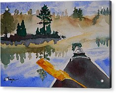 Algonquin Provincial Park Ontario Canada  Acrylic Print by Warren Thompson