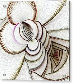 Algorithmic Art Acrylic Print by Anastasiya Malakhova