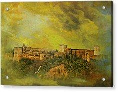 Alhambra Granada  Acrylic Print