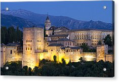 Acrylic Print featuring the photograph Alhambra Palace  by Nathan Rupert