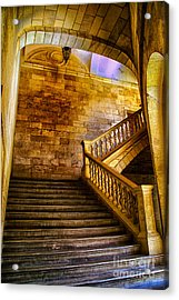 Alhambra Stairway Acrylic Print