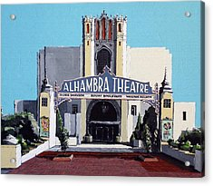 Alhambra Theatre Acrylic Print by Paul Guyer