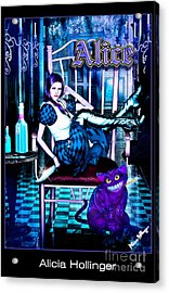 Alice Acrylic Print by Alicia Hollinger
