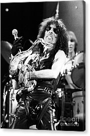 Alice Cooper 1979 Acrylic Print by Chris Walter