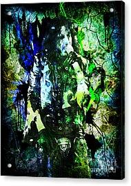 Alice Cooper - Feed My Frankenstein - Original Painting Print Acrylic Print
