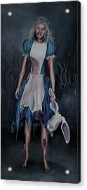 Alice Doesnt Live Here Anymore Acrylic Print by John Hodgson