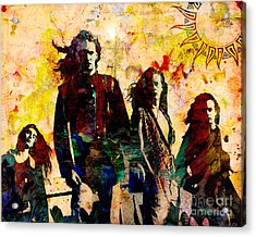 Alice In Chains Original Painting Print Acrylic Print