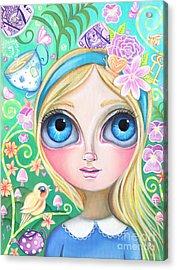 Alice In Pastel Land Acrylic Print