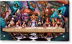 Alice In Wonderland 06a Acrylic Print by Zenescope Entertainment