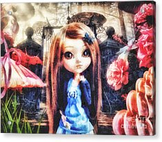 Alice In Wonderland Acrylic Print by Mo T