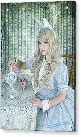 Alice Lolita Acrylic Print by Christine Holding