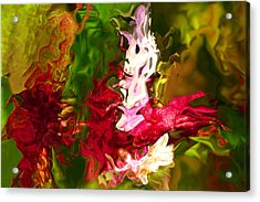 Acrylic Print featuring the digital art Alice by Richard Thomas