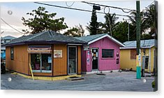 Alice Town Shops Acrylic Print