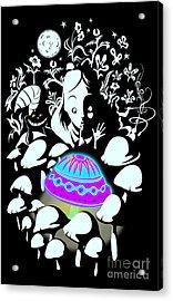 Alice's Magic Discovery Acrylic Print