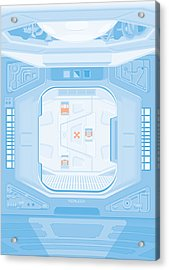 Alien 1979 Poster - Airlock Acrylic Print by Peter Cassidy