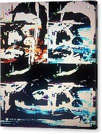 Alien Abduction Acrylic Print by Judith Desrosiers