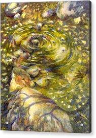 Alien Abduction Acrylic Print
