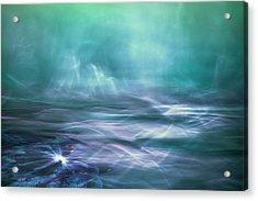 Alien Arctic Waters Acrylic Print