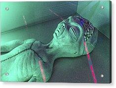 Alien Autopsy Acrylic Print