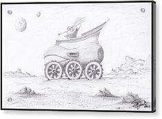 Alien Buggy Acrylic Print