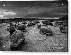 Alien Eggs At The Bisti Badlands Acrylic Print